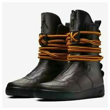 NEW $200 NIKE SF Air Force 1 Men High Leather Boots Rope Laces Brown SELECT SIZE