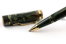 Conway Stewart Churchill Brown Whirl Limited Edition Rollerball Pen