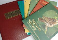 WWF Stamp Albums World Wildlife Federation 1980s Lot: 5 Albums