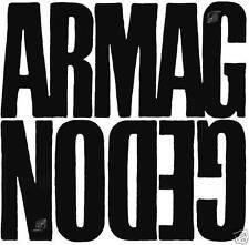 ARMAGGEDON: same (1970); Missing Vinyl MV009; German progressive; LP Neu