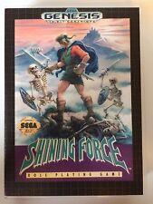 Shining Force - Sega Genesis - Replacement Case - No Game