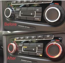 VW Golf Mk6 GTI Climate Control Heater Switch Dial Covers