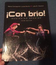 College language study textbooks educational books ebay con brio beginning spanish 3rd edition isbn 978 1 118 fandeluxe Choice Image