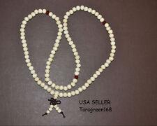 108 Wood Natural  8mm Beads Mala Tibet Buddha Bracelet For Meditation Prayer