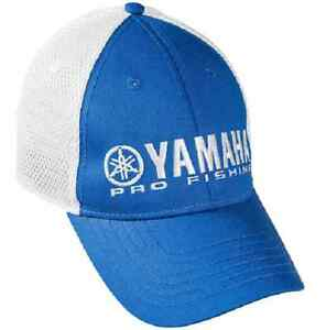 Yamaha Pro Fishing Hat Blue with White Mesh One Size Fits Most