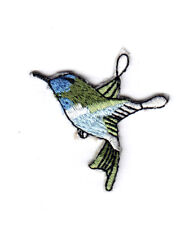 Humming Bird Embroidered Iron On Sew On Patch Badge Dress Transfer New Clothes R