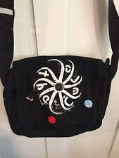 The Cure Music Tour Concert Curiosa Shirt Messenger Bag Buttons Robert Smith