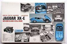 GUNZE High-tech model 1/24 Jaguar XK-E with engine parts scale model kit sealed