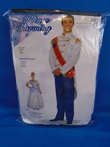 Forum Fairy Tales Fashions Prince Charming Costume Blue/White Size up to 42