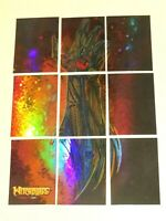 2014 WITCHBLADE GAUNTLET PUZZLE COMPLETE 9 INSERT SET! TOP COW MARC SILVESTRI!