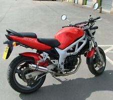 Suzuki SV650 03-15 SP Engineering Polished Stainless Stubby Moto GP Exhaust