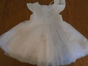 BNWT baby girl dress & pants outfit. Mothercare. RRP £25. 3-6mths  (2/1)