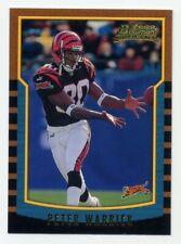 2000 Bowman PETER WARRICK Rookie Card RC #183 Cincinnati Bengals FSU SEMINOLES