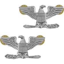 USMC Marine Corps Collar Device Rank Colonel   NEW