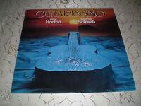 "PETER HORTON / SIEGFRIED SCHWAB (LP)  -> ""GUITARISSIMO"" [1978 / NATURE]"