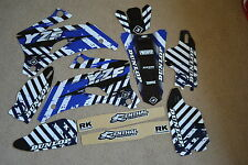 FLU PTS PRO TEAM SERIES GRAPHICS YAMAHA YZ250F YZ450F YZF250 YZF 06 07  08 2009