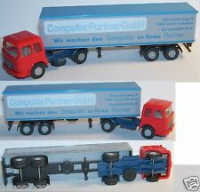 WIKING HO 1/87 CAMION MAN DIESEL SEMI REMORQUE COMPUTER PARTNER GMBH