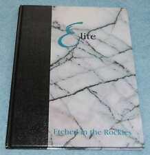 Parker Vista Middle School 1994 Yearbook (Elite), Parker CO