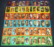 Star Wars ROTJ Vintage Variation Sticker Card Set (66) Return of the Jedi Topps