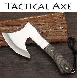 Outdoor Hunting Tomahawk Tactical Axe Camping Survival Army Machete Hatchet Axes