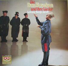 DON KOSAKEN UND IHRE LIEDER -  SERGE JAROFF  - 2 LP