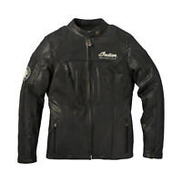 Indian Motorcycle Women's Leather Effie Casual Jacket with Removable Lining