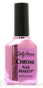 Lot of 5 Sally Hansen Chrome Nail Polish / Nail Makeup - Violet Sapphire # 57