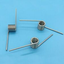 Torsion spring 2MM stainless steel angular L 40mm 7 ring torsional spring 10pair