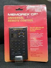 Vintage MEMOREX Model CP4 Black Remote Control Unit NEW