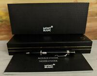 MONTBLANC Boheme Noir et Noir Black & Platinum Trim Ballpoint Pen, RARE NOS!