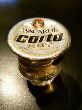 Bacardi Corto Hot Rum Shot 1 mal 20 ml Glas Vanilla & Chili Sammlerstück