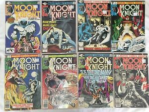 Moon Knight 1,2,3,4,5,6,7,8 lot