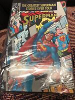 The Greatest Superman Stories Ever Told 1987 First Edition Hard Cover Byrne DC