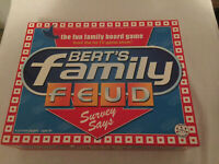 Bert's Family Feud Board Game Crown and Andrews 2006 Grundy Channel Nine 9
