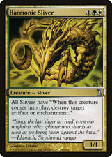 MTG X1: Harmonic Sliver, Time Spiral, U, Light Play - FREE US SHIPPING!