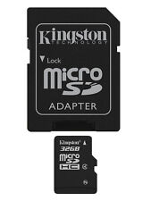 JOB LOT 5x NEW KINGSTON 32GB MICRO SD SDC4/32GB FLASH MEMORY CARD WITH ADAPTOR