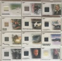 James Bond Archives 2014 Edition Relic Prop Card Lot 12 Cards