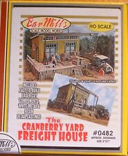 Bar Mills #482 (HO Scale) Cranberry Yard Freight House -- Kit