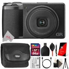 Ricoh GR III 24.2MP APS-C CMOS Sensor Digital Camera with 64GB Accessory Kit