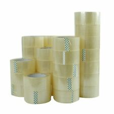36 Rolls 2 X 110 Yards 330 Ft Box Carton Sealing Packing Package Tape Clear