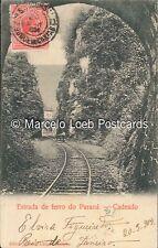 BRAZIL RAILWAYS PARANA ESTRADA DE FERRO CADEADO ED. JULIO LANGER 1904 - 11772