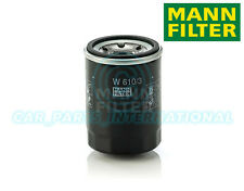 Mann Hummel OE Quality Replacement Engine Oil Filter W 610/3