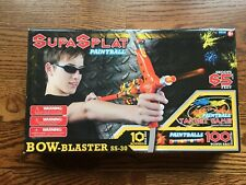 Supasplat Bow-Blaster Ss-30 New with 10 rounds per tube and 100 Bonus Paintballs
