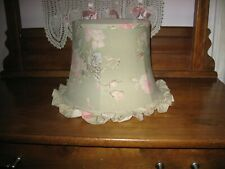 Simply Shabby Chic Floral Ruffled Lamp Shade