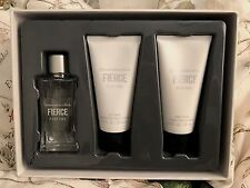 FIERCE Perfume by ABERCROMBIE & FITCH Gift Set Body Wash Cream 100% Authentic