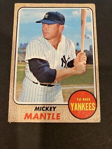Mickey Mantle 1968  # 280 VG CONDITION (Nice filler)