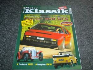 Motor Klassik Zeitschrift Heft 7/1999 Ferrari 308GT4
