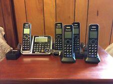 Panasonic KX-TG7871 5 Handset Bluetooth Link2Cell Cordless Digital Phone System