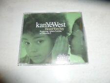 KANYE WEST featuring ADAM LEVINE - Heard 'Em Say - 2005 UK 2-track 2-CD single
