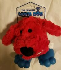 "Dog Toy The Original ""LOOFA DOG"" Dog Red 6"" Plush Squeaker Play Puppy Fetch Toy"